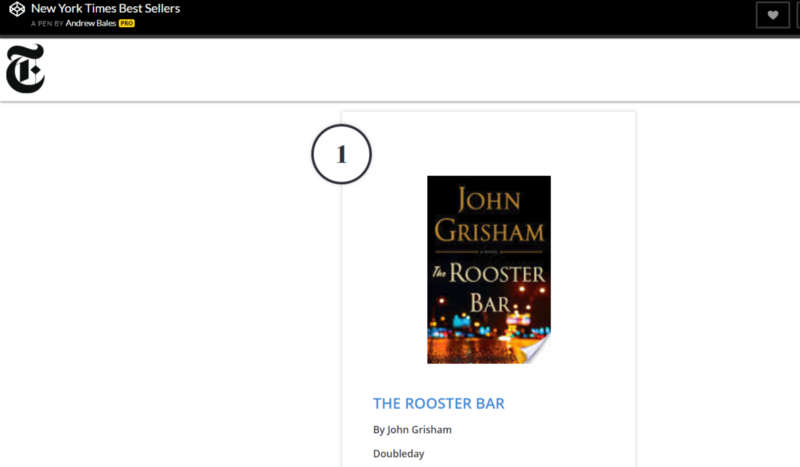 Build a Best Sellers List with New York Times and Google Books API