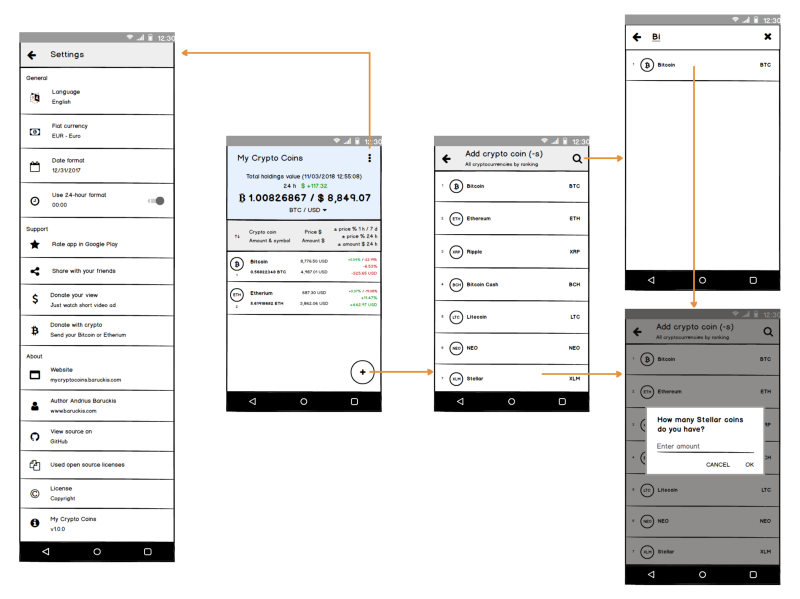 How to start building your Android app: creating Mockups, UI
