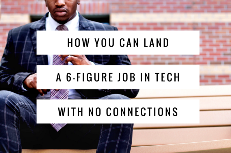 How you can land a 6-figure job In tech with no connections — tips that got me job offers from Google and other tech giants