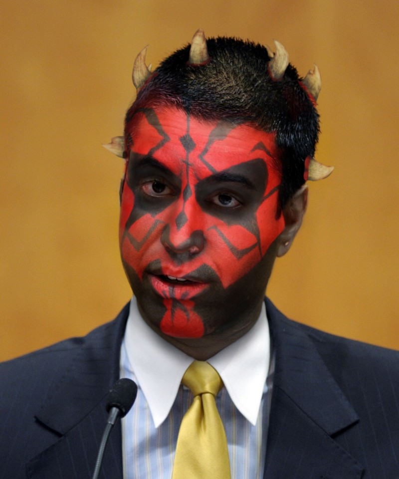 Meet Darth Pai, the Sith Lord who's taken over the Federal Communication Commission.