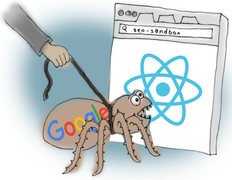 "Testing a React-driven website's SEO using ""Fetch as Google"""