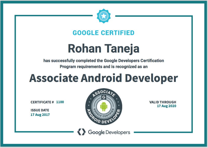 Google Certified Associate Android Developer: Tips, FAQs