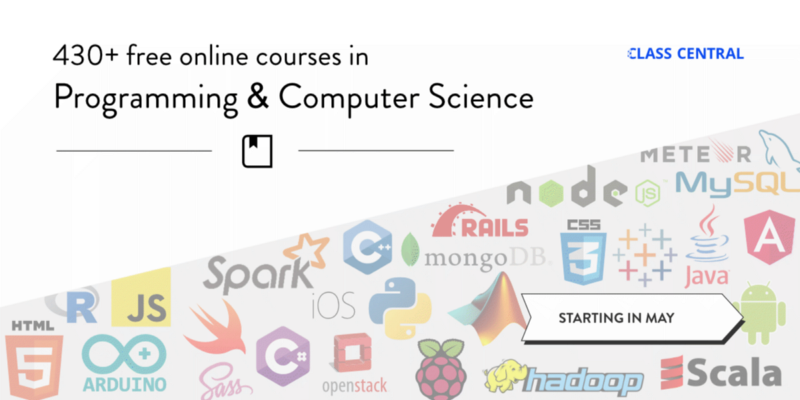 438 Free Online Programming & Computer Science Courses You