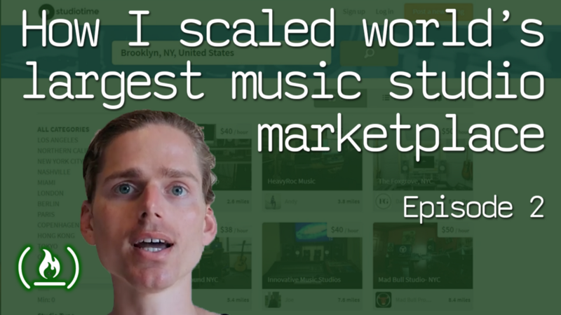 How I scaled the world's largest music studio marketplace
