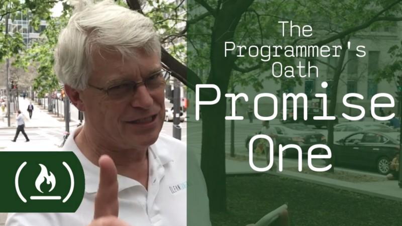 The Programmer's Oath