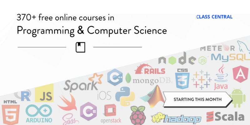 370 free online programming and computer science courses you can start in March