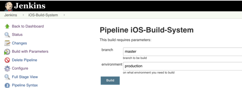 How to make an iOS on-demand build system with Jenkins and Fastlane