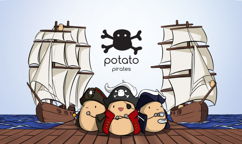 Potatoes, Pirates, and… Programming?