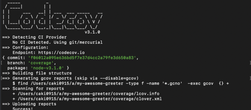 Get your NPM-package covered with Jest and Codecov ☂️