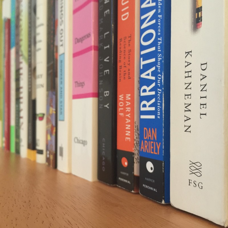A Cognitive Sciences Reading List for Designers