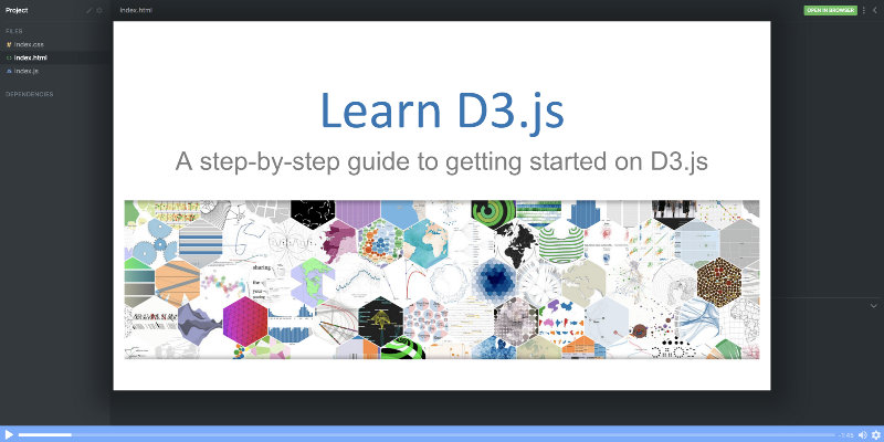 Learn D3 in this free 10-part data visualization course