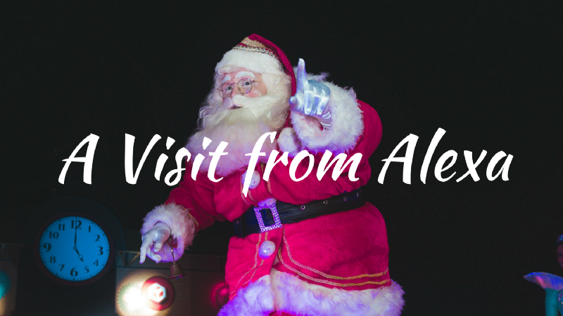 A Visit from St. Nicholas — and Alexa