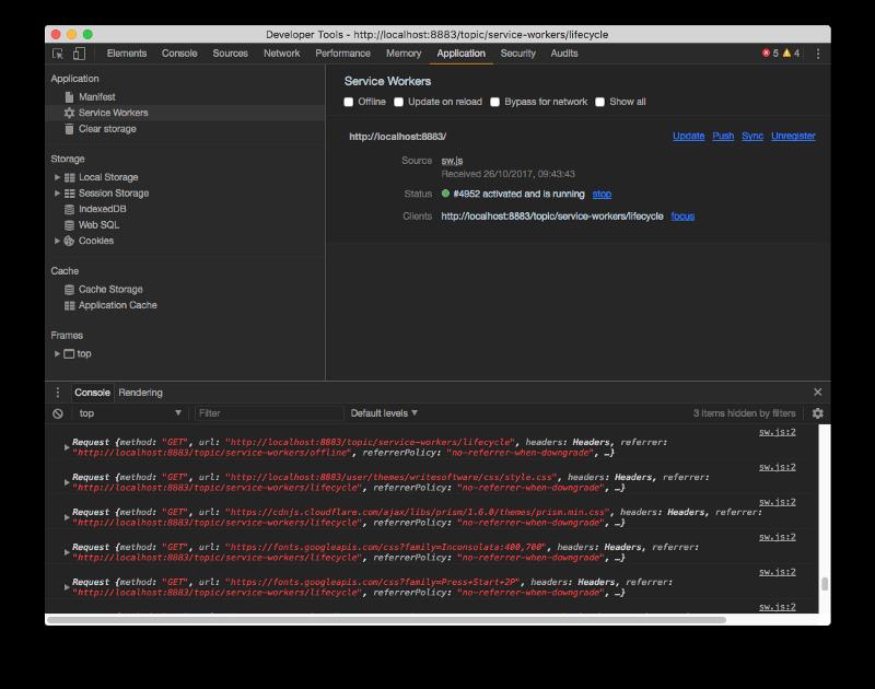 How I made my CMS-based website work offline