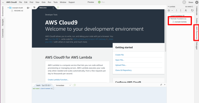 Here are three common ways to create your Lambda functions with AWS