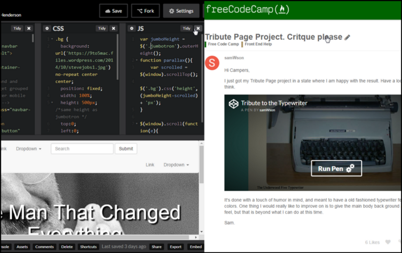 Codepen Tips And Best Practice