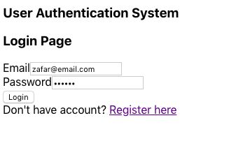 How to set up user authentication using React, Redux, and