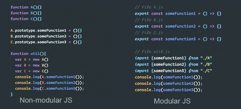 Learn the basics of the JavaScript module system and build