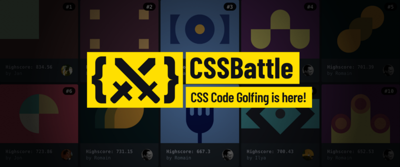 Introducing CSSBattle — the first CSS code-golfing game