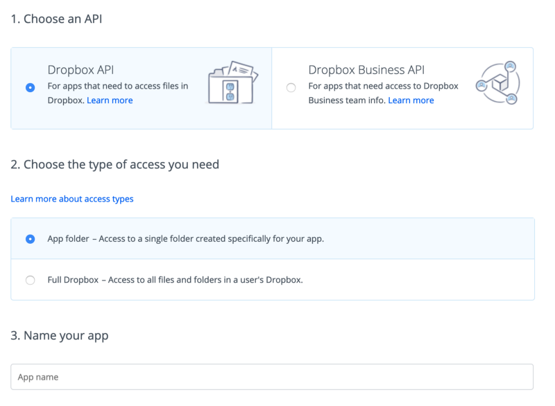 Learn the Dropbox API in 5 minutes