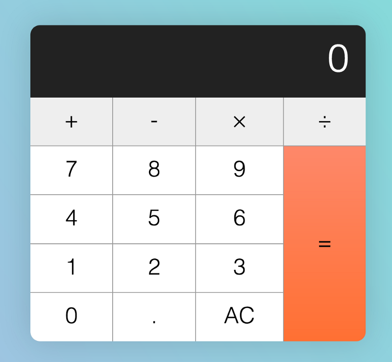 How to build an HTML calculator app from scratch using JavaScript
