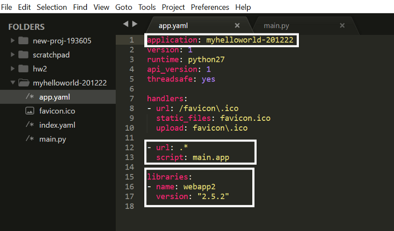 A quick guide to deploying your Python webapp on Google App