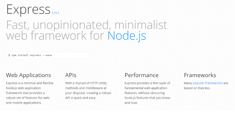 10 Node js Frameworks Worth Checking Out: Express, Loopback