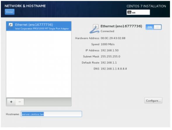Aws Centos Add Network Interface