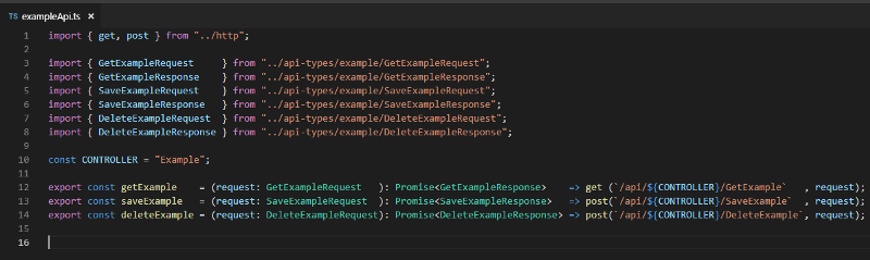 The easy way to get TypeScript interfaces from C#, Java, or Python