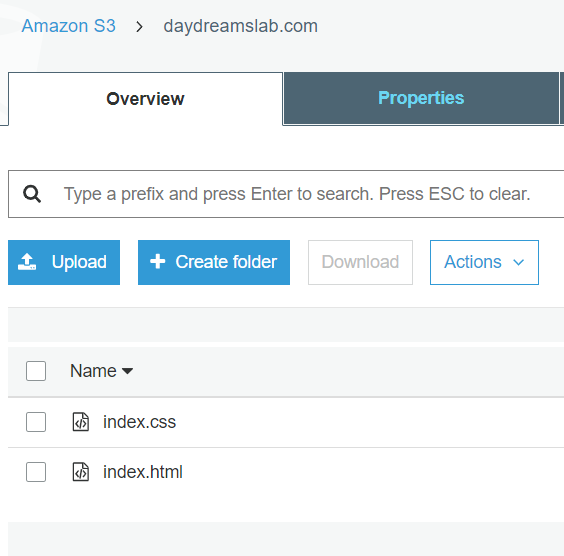 Simple site hosting with Amazon S3 and HTTPS