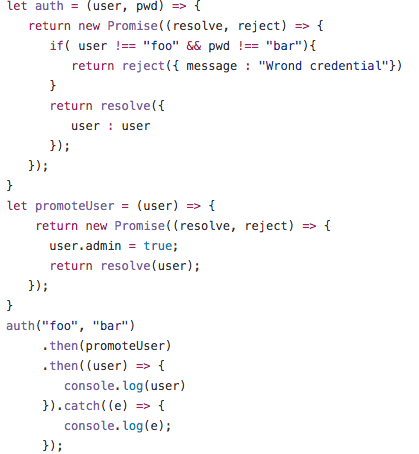 Make your life easier with JavaScript promises