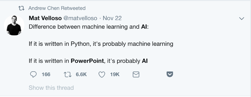 How to cut through the AI hype to become a machine learning