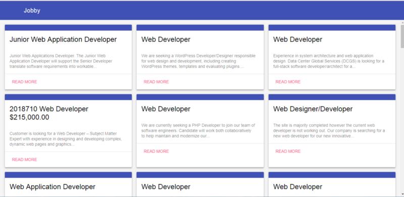 How I built a job scraping web app using Node js
