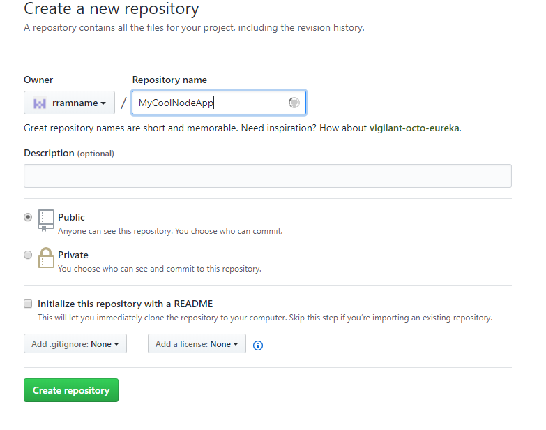 How to deploy a NodeJS app to Heroku from Github (without