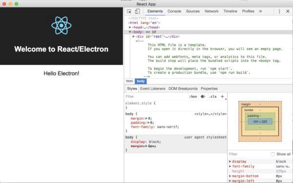 Run node js on electron