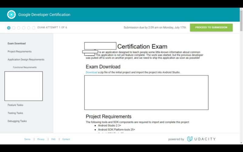 Google Certified Associate Android Developer: Exam Walkthrough