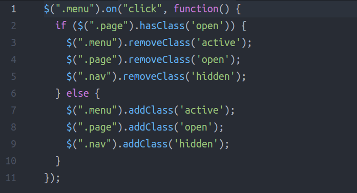How to manipulate classes without jQuery by using HTML5's classList API