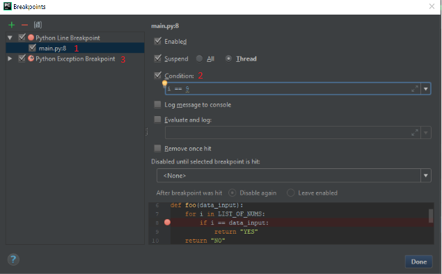 How to use PyCharm to debug your Python code