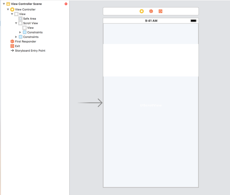 How to use Auto Layout with UIScrollView for iOS