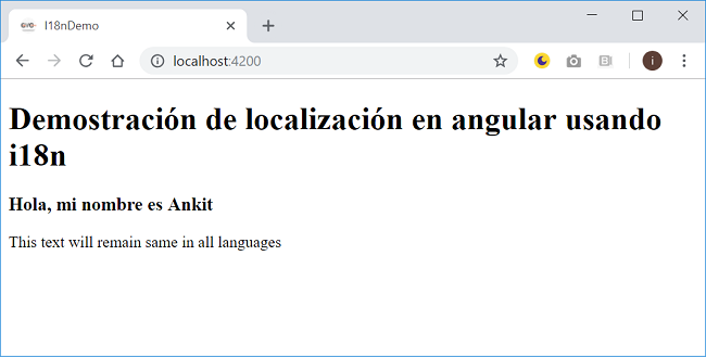 How to implement localization in Angular using i18n tools