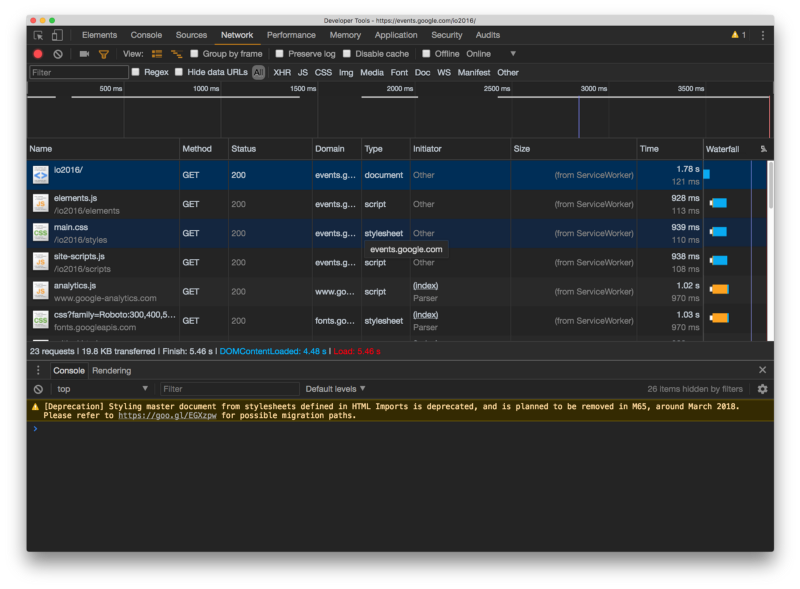 How to debug Progressive Web Apps using Browser Developer Tools