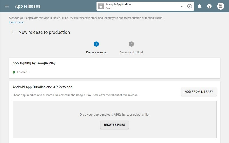 How to Publish An Application In The Play Store