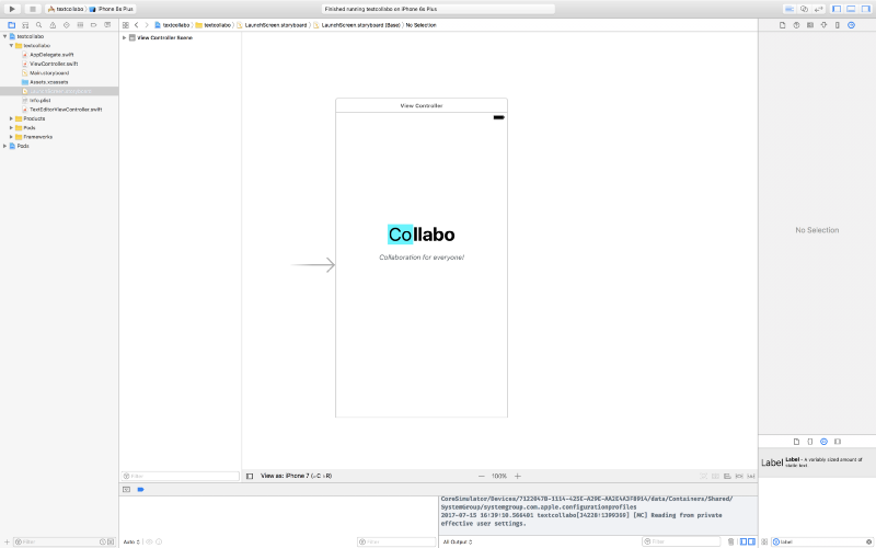 How to build a collaborative text editor using Swift