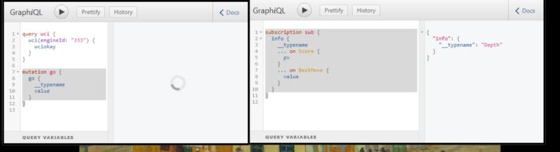 Mocking a GraphQL Wrapper around the Universal Chess Interface