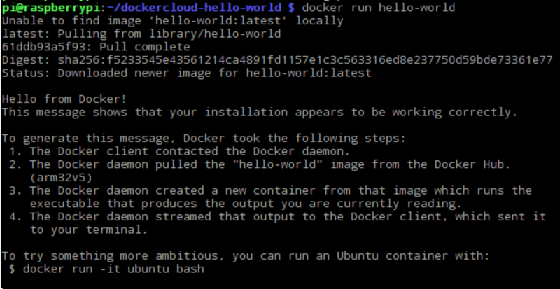 The easy way to set up Docker on a Raspberry Pi