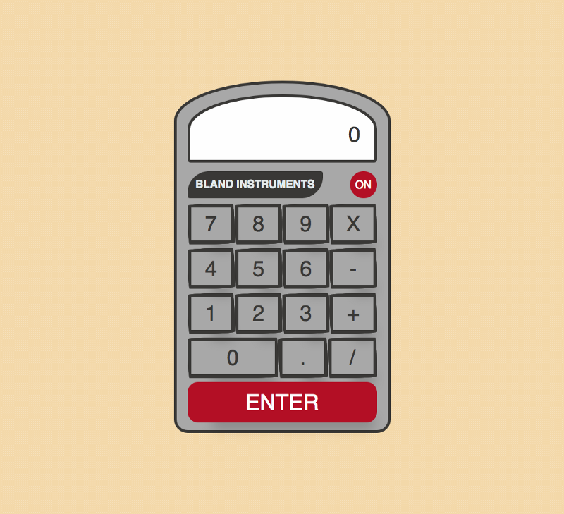 How to program a calculator with jQuery