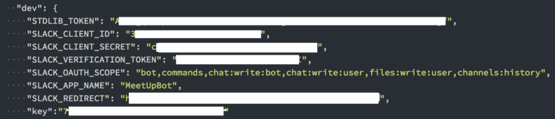 How to build a Meetup Slack bot with Standard Library and Node js