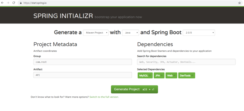 How to build a Rest API with Spring Boot using MySQL and JPA