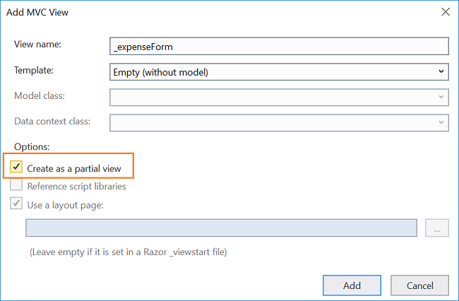 How to create an expense manager using Entity Framework Core and