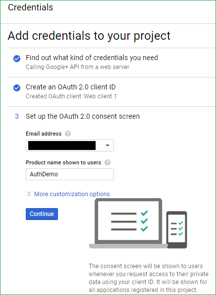 Authentication Using Google In ASP NET Core 2 0
