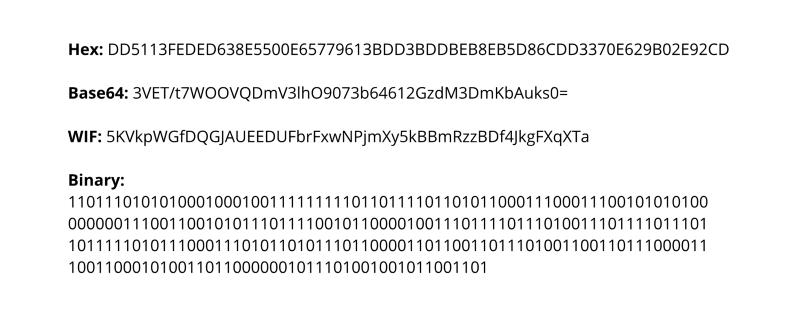 bitcoin private key generator